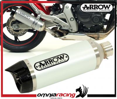 Arrow Aluminium Carby E9 Homologated Exhaust for Honda CB 600 F Hornet /ABS 2007 07>14