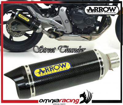 Arrow Full Carbon E9 Homologated Exhaust for Honda CB 600 F Hornet /ABS 2007 07>