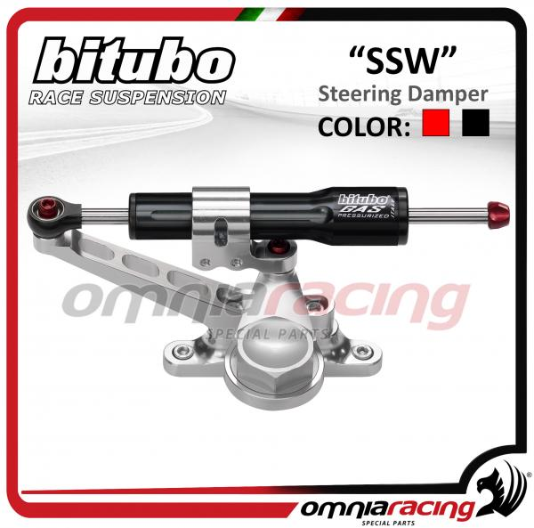Bitubo SSW Linear Steering Damper black color for Honda Hornet 600 2007>2011