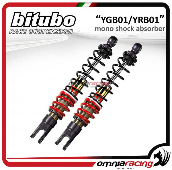 Bitubo Ygb Yrb 01 Pair Of Rear Shock Absorbers Adjustable For Honda