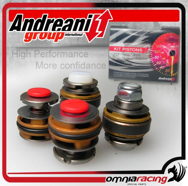 Andreani Compression and Rebound Fork Valve Pistons Kit for Suzuki GSX-R 600 / 750 K6 2006 06>07