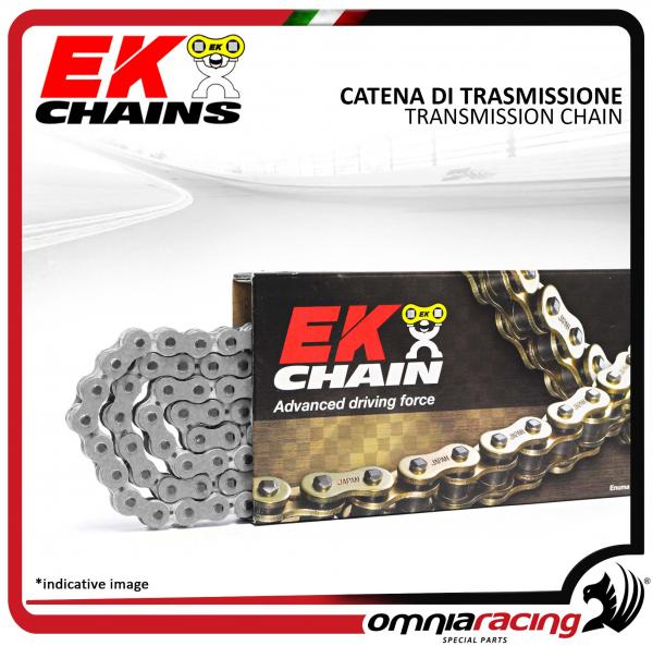 Catena O Ring Ox Ring.Chain Ek Size 525 104 Side Links For Street Bike With Quadra X Ring