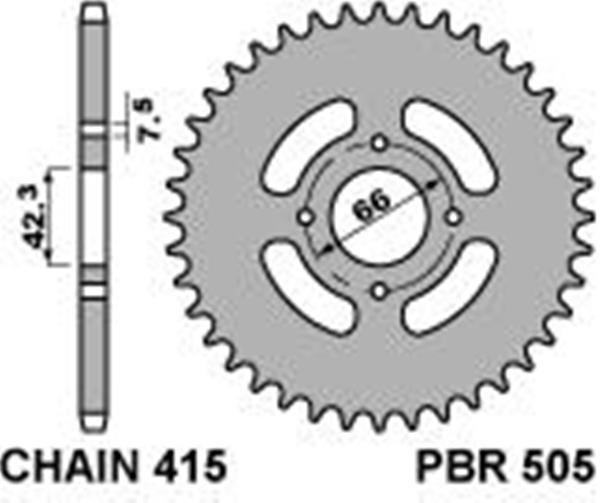 info for popular brand arrives Corona PBR in ferro passo 415 denti 32 per Malaguti DRIBBLING AE-KS50  1987>1990