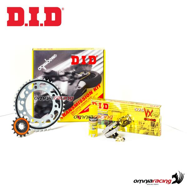 Transmission kit DID professional chain rear/front sprocket for Honda CB600 Hornet/ ABS 2007>2013