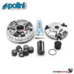 Polini Kit completo variatore Hi-speed evolution con 2 rulli per Kymco Downtown 125i