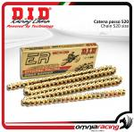 DID 520 ERV3 G&G Racing Chain, 108 links, 520 size, MotoGP/SBK/SS/STK