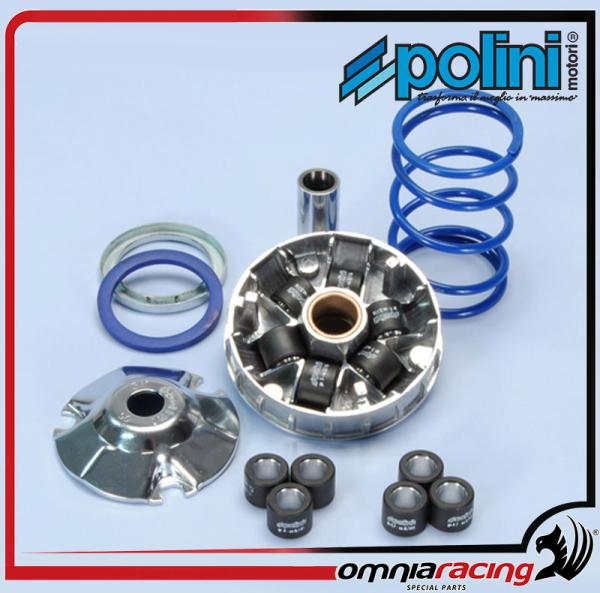Polini Hi-Speed Variator for 50cc ITALJET Dragster Pista Yankee Scoop / KTM  K-50 / MBK Booster