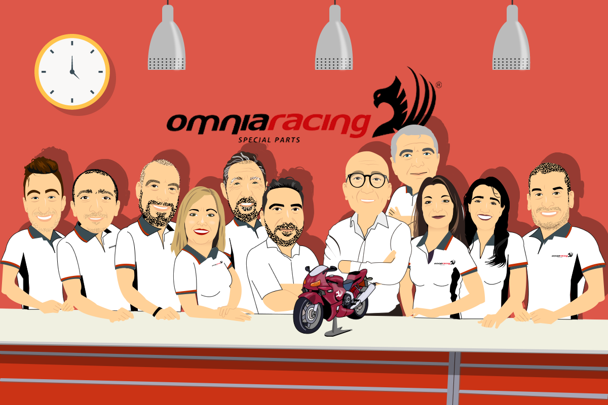 Omniaracing motorcycles special parts on-line store all motorbike brands